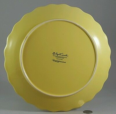 ... Beautiful Yellow April Cornell Replacement Dinner Plates & BEAUTIFUL YELLOW April Cornell Replacement Dinner Plates - $9.99 ...