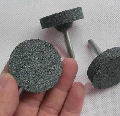 5 x 40mm Mounted Grinding Stone Abrasive Wheel 6mm Shank For Drill Rotary Tool 3