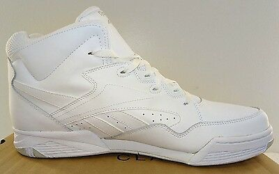 d44f8e548ac ... REEBOK BB4600 Mid Men s Basketball Shoes White Leather NWD 6.5 to 15M 3