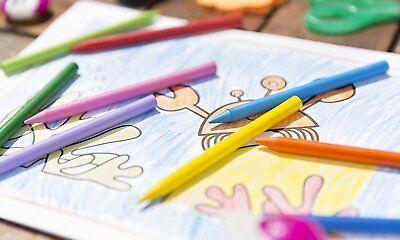 Estuche 24 Ceras Duras Colores Bic Plastidecor Caja Edad 30 Meses Niños Niñas 4