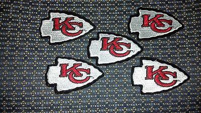 NFL KANSAS CITY CHIEFS Iron or Sew-On Patch National Emblem 4