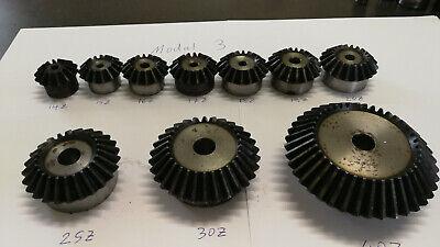 ETZR-45G-M1-25Z  Zahnrad Kegelrad Modul1 25 Zähne 45 Grad für Übersetzung 1:1 10