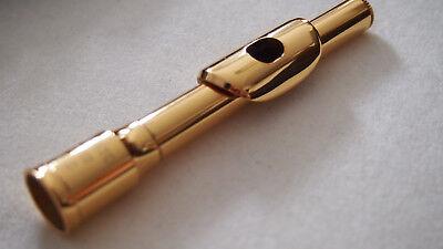 Piccolo Goldkopf 24 Karat 999 Gold  piccolo Cabeza de oro para Gold head for pic