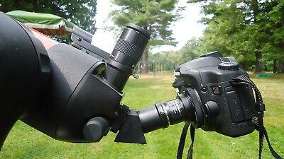 "Celestron 1.25"" Achromatic Camera T-adapter #93640 & 2x barlow lens (UK Stock) 3"