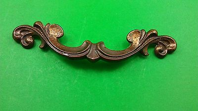 3 Antique Vintage Handles/pulls For Bedside Table Drawers 4