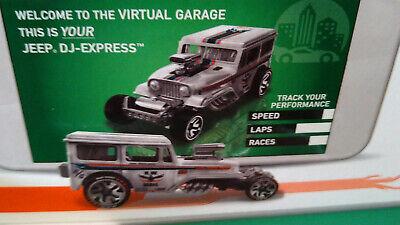 NG113 Hot Wheels ID Jeep DJ-Express