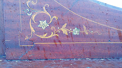 Very nice Inlaid Mother of Pearl Fire place mantle 6