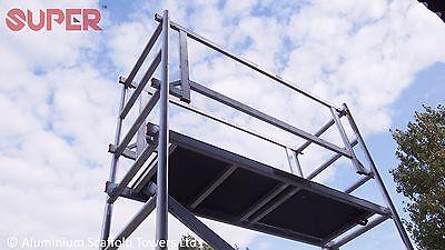 Super DIY 5.2M (3 in ONE) - Aluminium Scaffold Tower, 1m Frames, One Man Tower 3