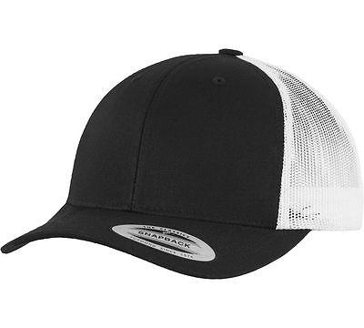 a1b14703d6a25 YUPOONG RETRO TRUCKER Hat   2-Tone Snapback Baseball Cap by Flexfit ...