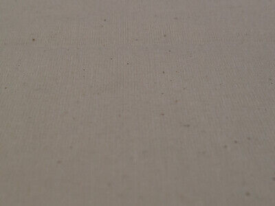 "100% Natural Cotton Calico Fabric Medium Weight 145gsm 63"" Handcraft 1M RRP£8.99 3"