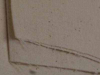 "100% Natural Cotton Calico Fabric Medium Weight 145gsm 63"" Handcraft 1M RRP£8.99 2"
