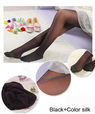 Womens Glitter Shimmer Sheer Shiny Pantyhose Opaque Stockings Tights Hosiery 6