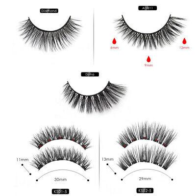 Magnetic liquid Eyeliner magnets False Eyelashes Tweezer Easy Wear Lashes Set 4