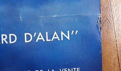 Original LE REGARD D'ALAN Poster 1991 French Modernist Design Serge MOUILLE RARE 5