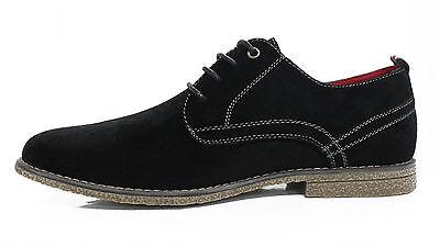 ... Scarpe Francesine Uomo Diamond Nero Scamosciate Casual Shoes 40 41 42  43 44 45 e525a07acdb