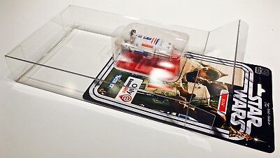 1 Clear Protector For R5-D4 ONLY!  STAR WARS 40TH Anniversary Display Case Box 2