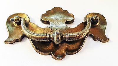 "Colonial Chippendale Batwing Drawer Pull Antique Hardware 3 3/4"" & 3""center 4"