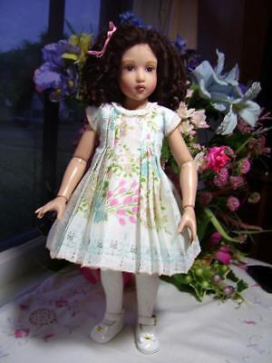 """Hanky Dress, Hat  PATTERN for 10"""" to 16"""" Dolls  Little Darling,  Bleuette, 9"""
