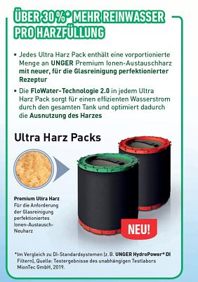 Unger DIUB1 nLite Ultra Harz Packs 3 x Harzbeutel für Filter S | DIUH1 + DIUK1 5