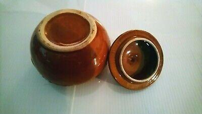 Keramik SANO Senfkörner Kloster Labor  LORCH  PETERSEN Apotheke Dose antik ? 5