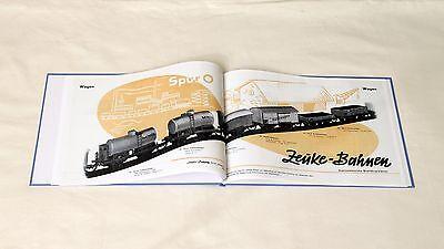 Buch Zeuke & Wegwerth Reprint DDR Modellbahnkataloge Spur 0