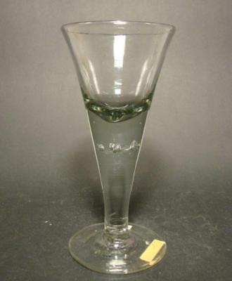 Barock - Pokalglas mit Luftblasen und Abriss. Norddeutsch, 18.Jh. 4