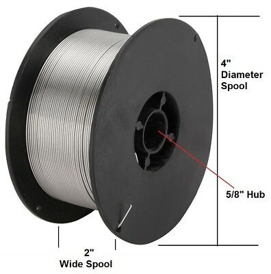 """Stainless Steel ER308L Mig Welding Wire 308L .030"""" 2 lb Roll, 308L-030-2"""