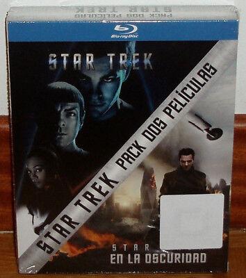 Star Trek+Star Trek En La Oscuridad 2 Blu-Ray Nuevo Precintado (Sin Abrir) R2 2