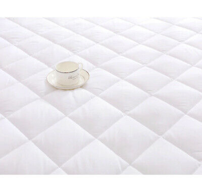 Extra Deep Quilted Mattress Bed Protector Topper Fitted Cover Double King Size 11