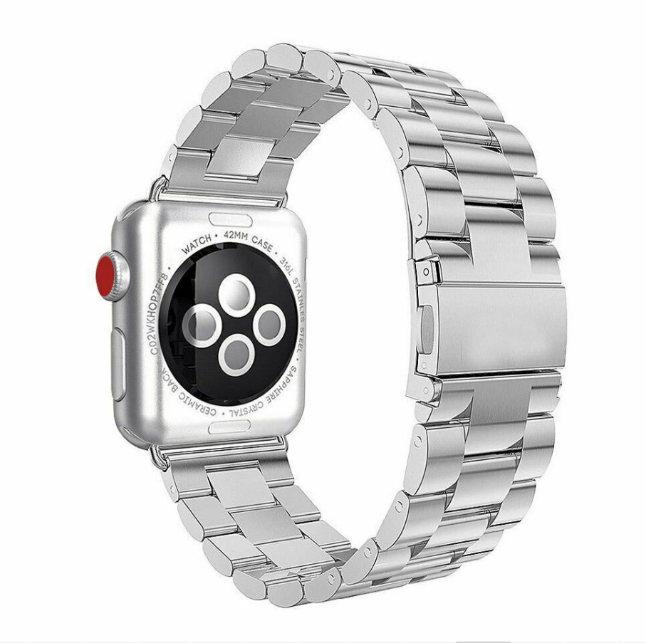 For Apple Watch Series 3/2/1 Stainless Steel Wrist iWatch Band Strap 38/42mm 5