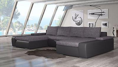 Wohnlandschaft Couch Sofa Marion U-Form Polstergarnitur Couchgarnitur Top 4
