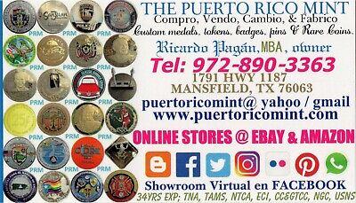 MEGA Set 131 PUERTO RICO CASINO New & Vintage POKER CHIP COLLECTION +Bonus Lot 9