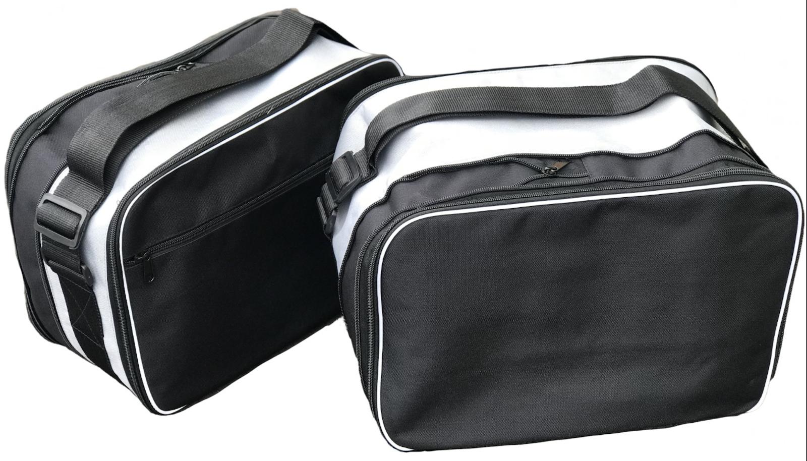 Ein Paar Innentaschen Passend für Triumph Tiger 800 Top Box