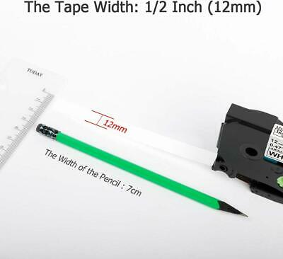 Compatible Brother TZ-231 P-Touch Black On White Label Tape 12mm x 8m TZe-231 2