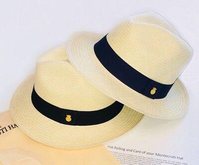 9168950b686e ... Genuine Montecristi Panama Hat Rollable Handmade Ecuador Travel Tube Uk  3