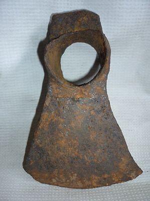 Antique Byzantine Handforged Iron Axe SUPER RARE 3
