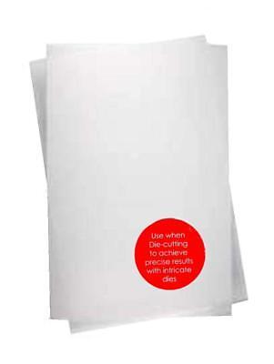 10 Blatt WACHSPAPIER Wachs-Papier zum Stanzen mit filigranen Stanzschablone 9202