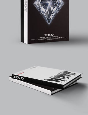 EXO [LOVE SHOT] 5th Repackage Album LOVE CD+Foto Buch+Foto Karte K-POP SEALED