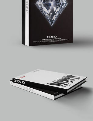 EXO [LOVE SHOT] 5th Repackage Album LOVE CD+POSTER+Foto Buch+Foto Karte SEALED 3