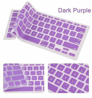 "Silicone Keyboard Cover Protector for Macbook Mac Pro 13 15 17 Air 11"" 13 Retina"