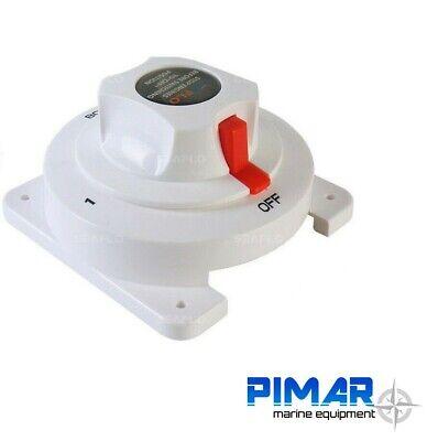 Selettore  Deviatore Per Due Batterie Staccabatteria Nautica Camper Barca 2