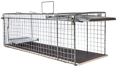 80x28x28cm große Marderfalle Lebendfalle Kaninchenfalle Tierfalle Drahtfalle 5