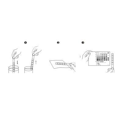 5 x Urine Test Strips 10 Parameter Urinalysis Professional/GP Dipstick CE Marked