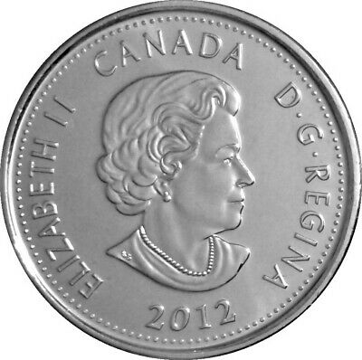 Canada quarter 25 cents coin, The War of 1812, Sir Isaac Brock, 2012 2