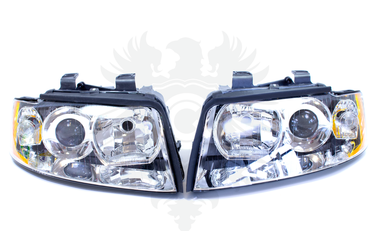 02-05 Audi S4 A4 Headlights Original Style SET Left+Right