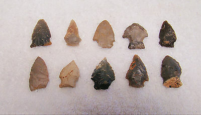 Tennessee, White Co., Cannyfork Creek 10 Stone Points 2 • CAD $38.26
