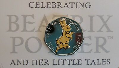 Peter Rabbit 50p Coin 4 Nations England Ireland Scotland Wales Beatrix Potter 6