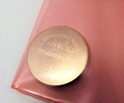ACCUMULATORE capacitor CTL 1616 LITHIUM SOLARE PANASONIC x casio 2