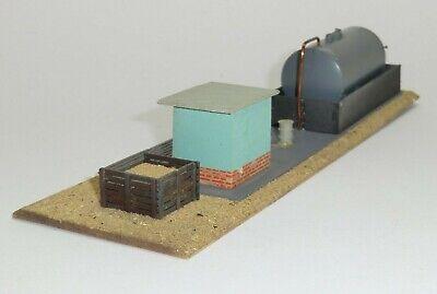 TeMos - Dieselloktankstelle, Mischbauweise, H0, 60er Jahre - N255/R 4