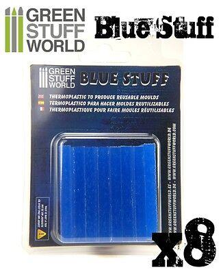 Blue Stuff 8Bars - Make reusables instant molds - Warhammer 40K OOAK Doll Reborn 2